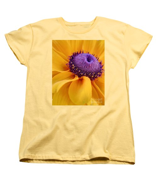 Women's T-Shirt (Standard Cut) featuring the photograph A Beautiful Black Eye by Heidi Smith
