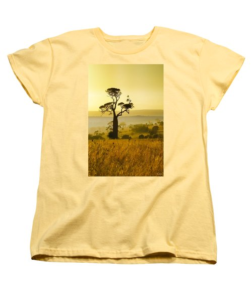 A Boab Sunrise Women's T-Shirt (Standard Cut) by Holly Kempe