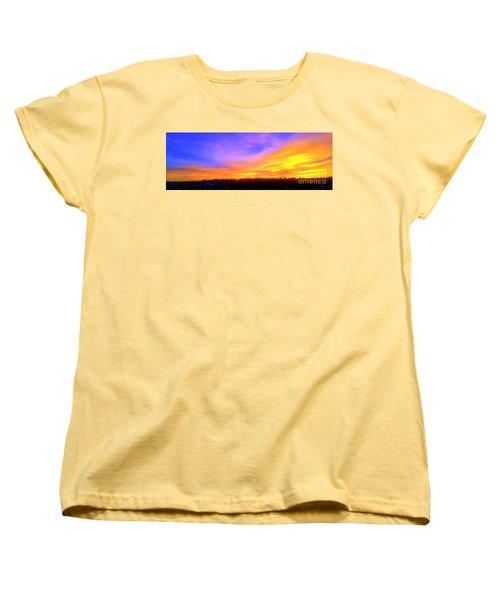 Women's T-Shirt (Standard Cut) featuring the photograph A New Dawn by Roberto Gagliardi