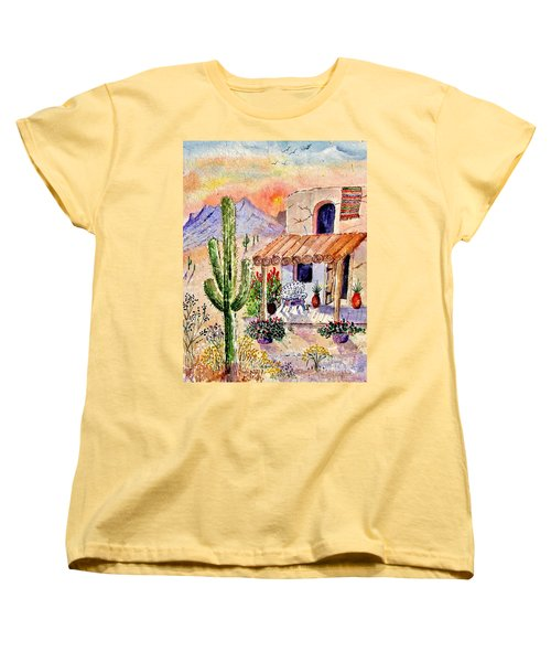 A Place Of My Own Women's T-Shirt (Standard Cut) by Marilyn Smith