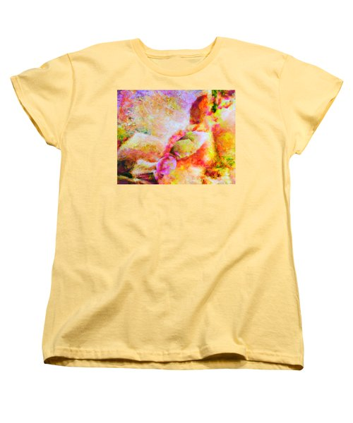 Women's T-Shirt (Standard Cut) featuring the painting A Summer Afternoon Love by Joe Misrasi