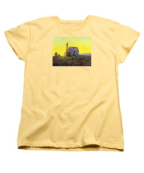 Abandoned  Farm Women's T-Shirt (Standard Cut) by Lee Piper