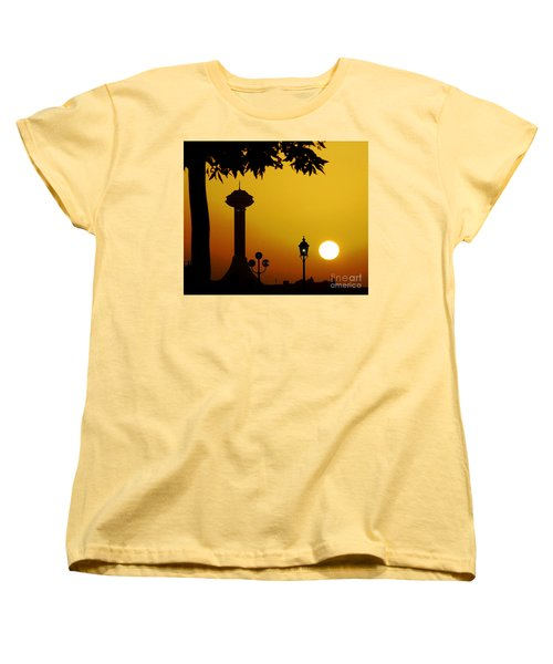 Women's T-Shirt (Standard Cut) featuring the photograph Abu Dhabi by Andrea Anderegg
