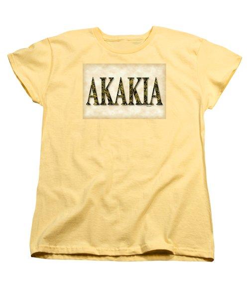 Acacia - Parchment Women's T-Shirt (Standard Cut) by Stephen Younts