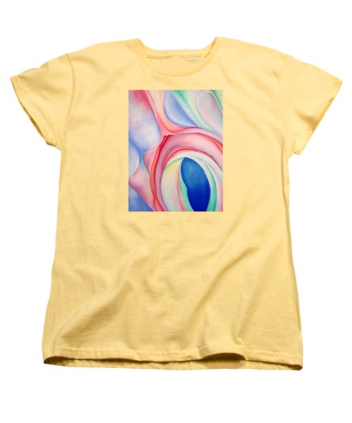 Women's T-Shirt (Standard Cut) featuring the painting After Okeffee by Joshua Morton