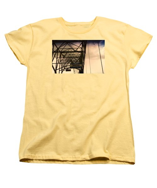 Akansas Here We Come Women's T-Shirt (Standard Cut) by Amazing Photographs AKA Christian Wilson