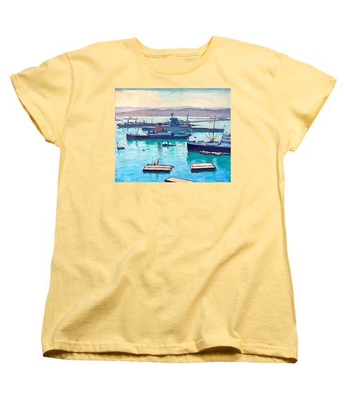 Albert In The Window Women's T-Shirt (Standard Cut) by Ira Shander