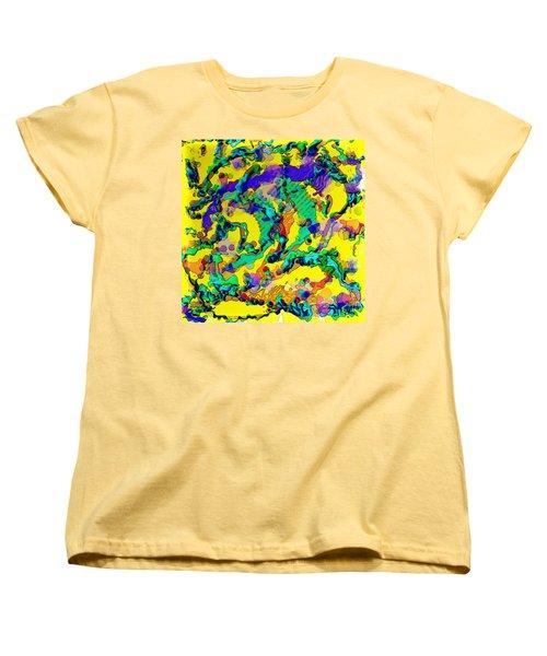Alien Dna Women's T-Shirt (Standard Cut) by Alec Drake