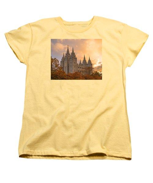 Autumn Splendor Women's T-Shirt (Standard Cut) by Dustin  LeFevre