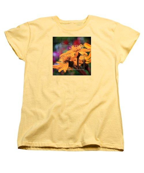 Women's T-Shirt (Standard Cut) featuring the photograph Autumn's Glory by Sandra Foster
