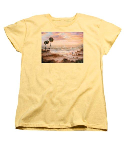 Beachcombers Women's T-Shirt (Standard Cut) by Duane R Probus