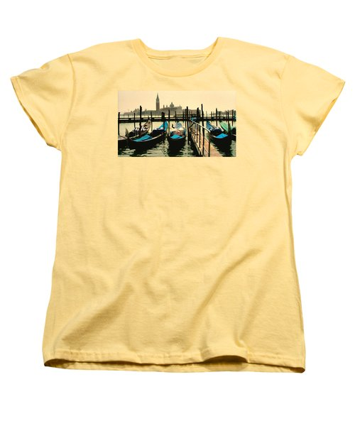 Women's T-Shirt (Standard Cut) featuring the photograph Beautiful Day In Venice by Brian Reaves