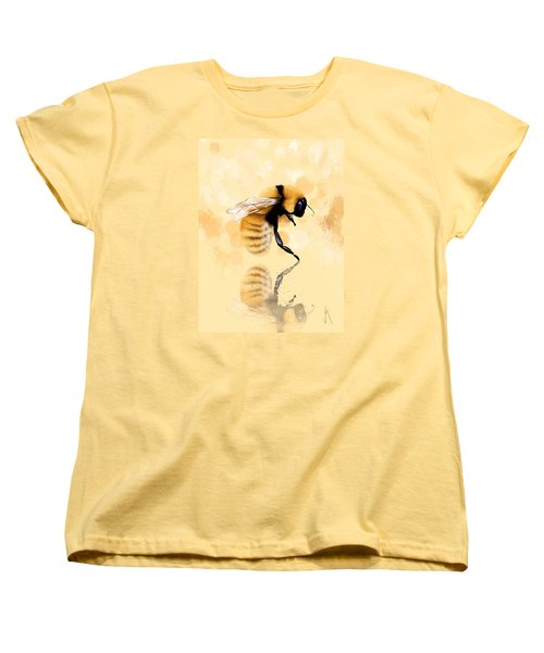 Bee Women's T-Shirt (Standard Cut) by Veronica Minozzi