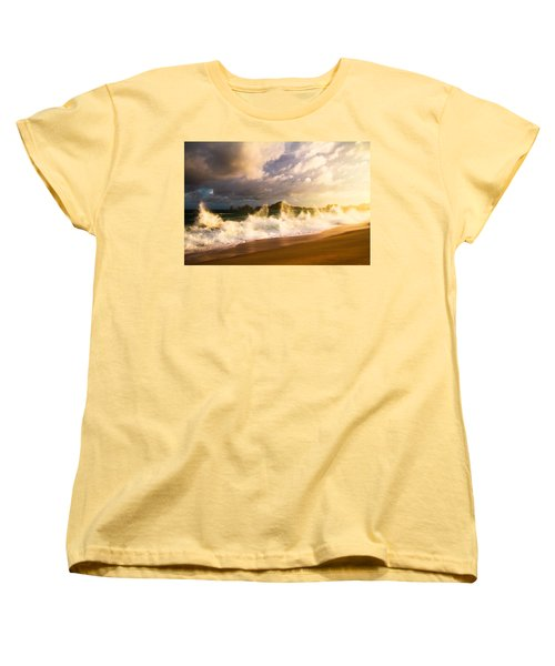 Women's T-Shirt (Standard Cut) featuring the photograph Before The Storm by Eti Reid