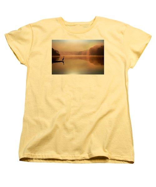 Beside Still Waters Women's T-Shirt (Standard Cut) by Rob Blair