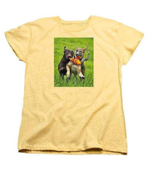 Women's T-Shirt (Standard Cut) featuring the photograph Best Friends 2011 by Joan Davis