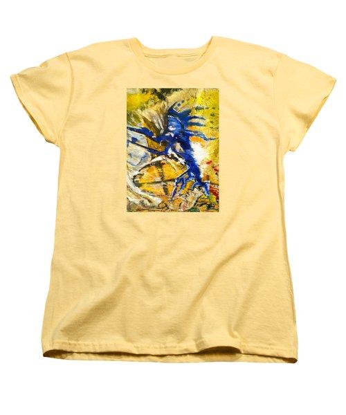 Beyond Boundaries Women's T-Shirt (Standard Cut) by Kicking Bear  Productions