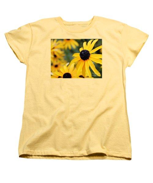 Black Eyed Susan Women's T-Shirt (Standard Cut)