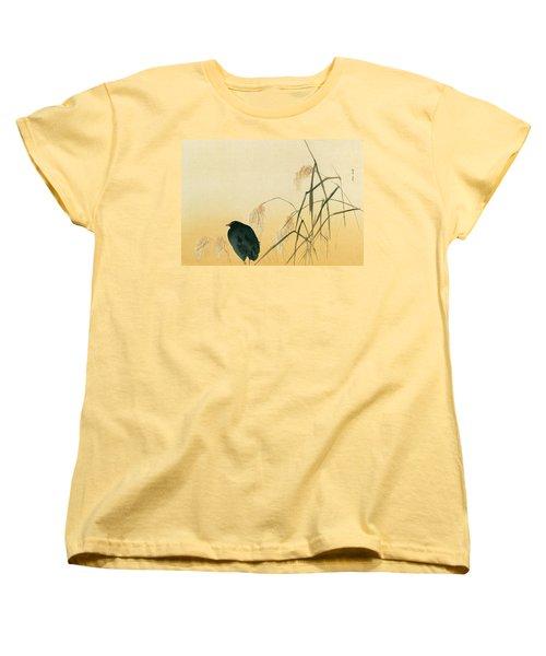 Blackbird Women's T-Shirt (Standard Cut) by Japanese School