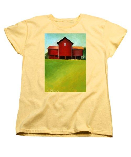Bleak House Barn 2 Women's T-Shirt (Standard Cut) by Catherine Twomey