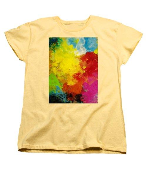 Spring Fling Women's T-Shirt (Standard Cut) by Kelly Turner