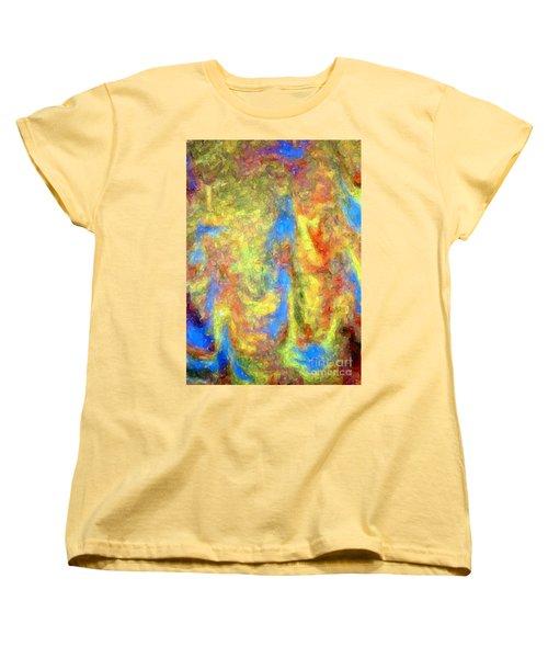 Blue Ascension Women's T-Shirt (Standard Cut) by Barbie Corbett-Newmin