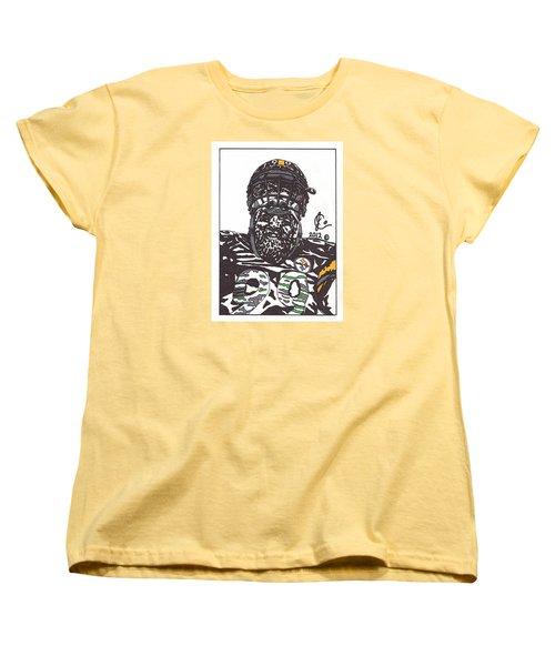 Brett Keisel 2 Women's T-Shirt (Standard Cut) by Jeremiah Colley