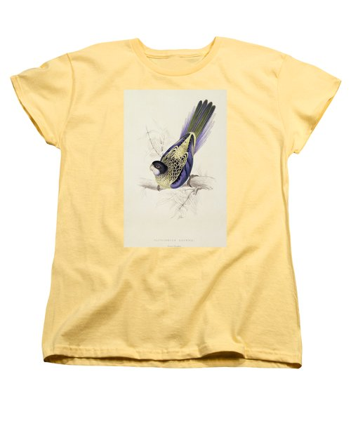 Browns Parakeet Women's T-Shirt (Standard Cut) by Edward Lear
