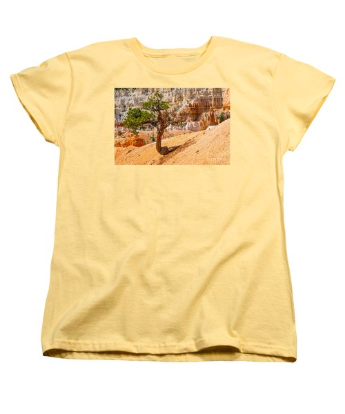 Bryce Canyon Np Women's T-Shirt (Standard Cut) by Juergen Klust