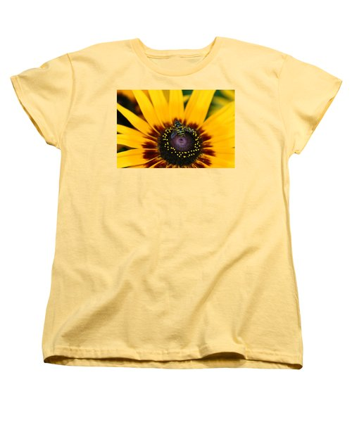 Busy Bee Women's T-Shirt (Standard Cut) by Denyse Duhaime