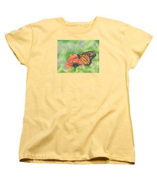 Butterfly Women's T-Shirt (Standard Cut) by Troy Levesque