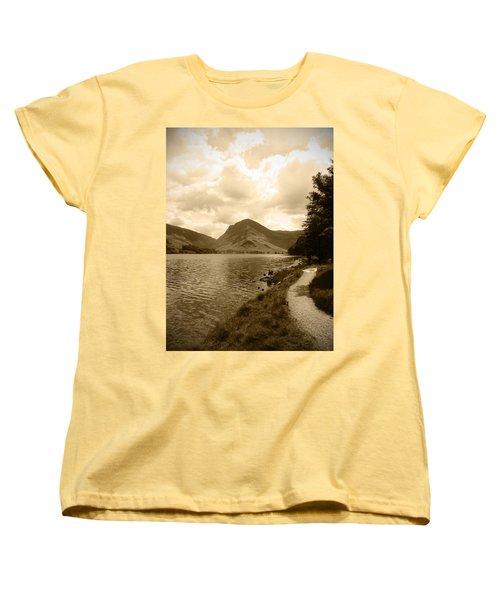 Buttermere Bright Sky Women's T-Shirt (Standard Cut) by Kathy Spall