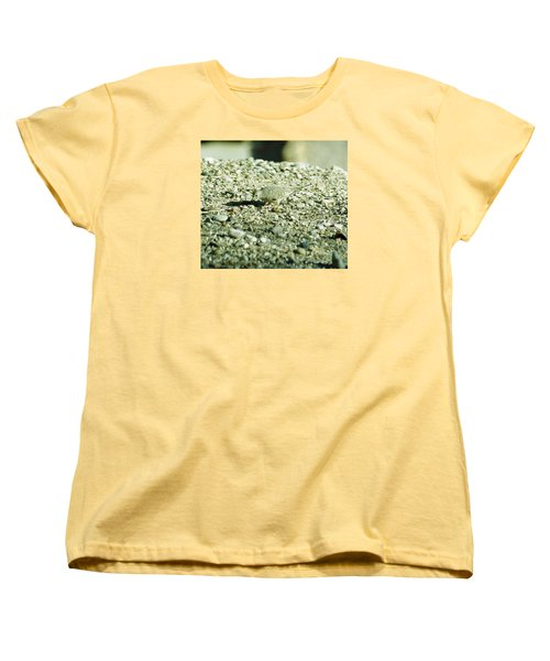 Women's T-Shirt (Standard Cut) featuring the photograph Arizona Camo Bird by Belinda Lee