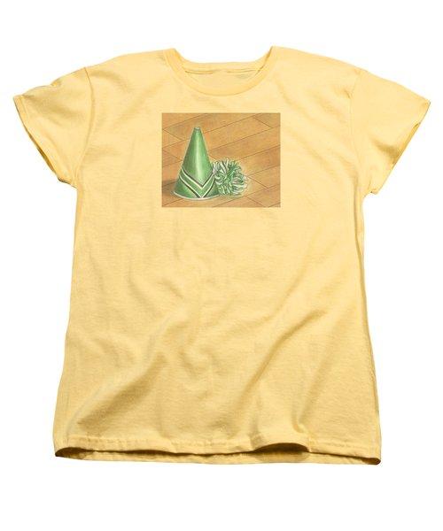 Cheer Women's T-Shirt (Standard Cut) by Troy Levesque