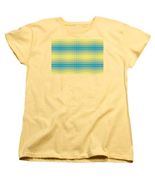 Citrus Warp 3 Women's T-Shirt (Standard Cut) by Kevin McLaughlin
