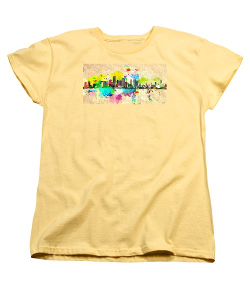 City Of Miami Grunge Women's T-Shirt (Standard Cut)