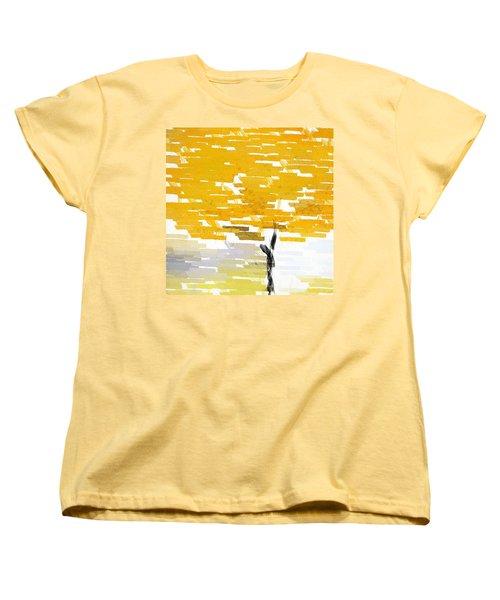 Classy Yellow Tree Women's T-Shirt (Standard Cut) by Lourry Legarde