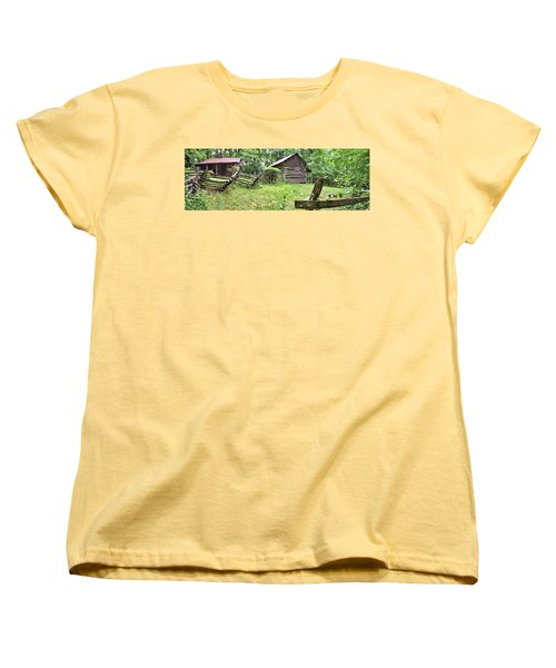 Colonial Village Women's T-Shirt (Standard Cut)