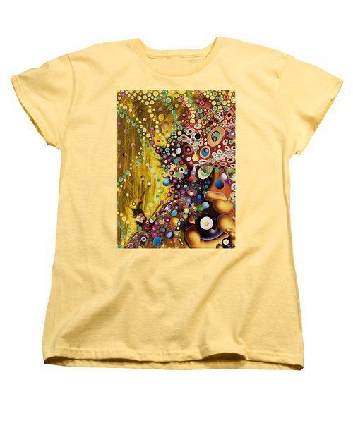 Color Intoxication Remix Women's T-Shirt (Standard Cut) by Douglas Fromm