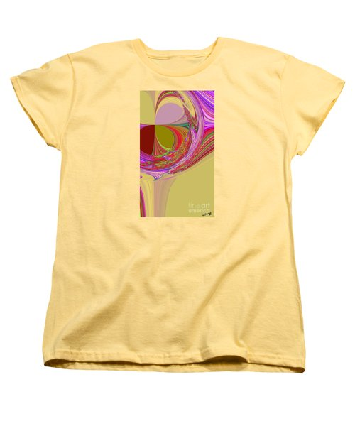 Color Symphony Women's T-Shirt (Standard Cut) by Loredana Messina
