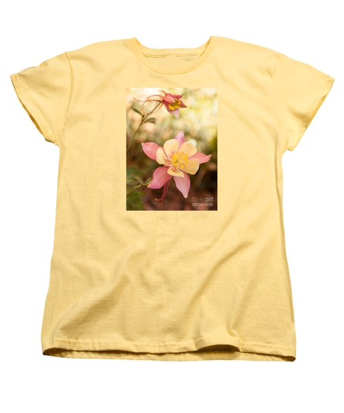 Columbine Women's T-Shirt (Standard Cut) by Roselynne Broussard