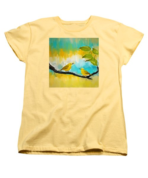 Companionship Women's T-Shirt (Standard Cut) by Lourry Legarde