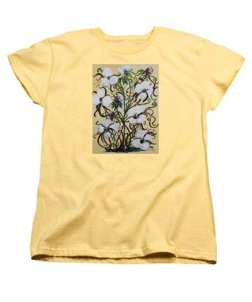 Cotton #1 - King Cotton Women's T-Shirt (Standard Cut) by Eloise Schneider