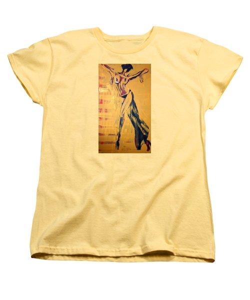 Cuba Rhythm Women's T-Shirt (Standard Cut) by Jarmo Korhonen aka Jarko