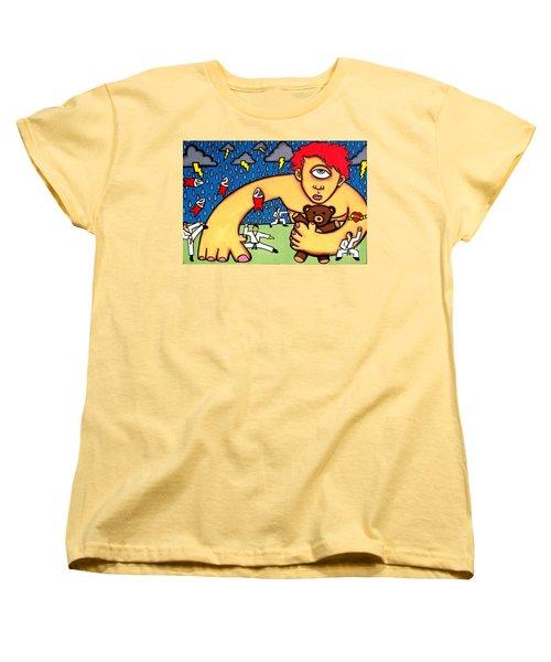 Cyclops I Want To Sleep Women's T-Shirt (Standard Cut) by Thomas Valentine