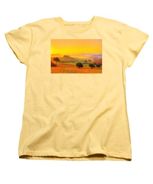 Dance Of Dawn Women's T-Shirt (Standard Cut) by Midori Chan
