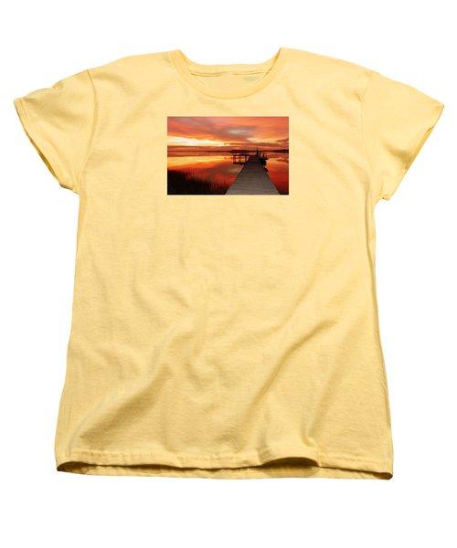Dawn Of New Year Women's T-Shirt (Standard Cut)