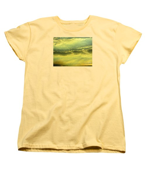 Women's T-Shirt (Standard Cut) featuring the photograph Day Is Done by Joy Hardee