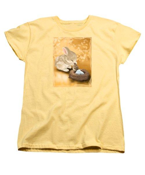 Dear Friend Women's T-Shirt (Standard Cut) by Veronica Minozzi