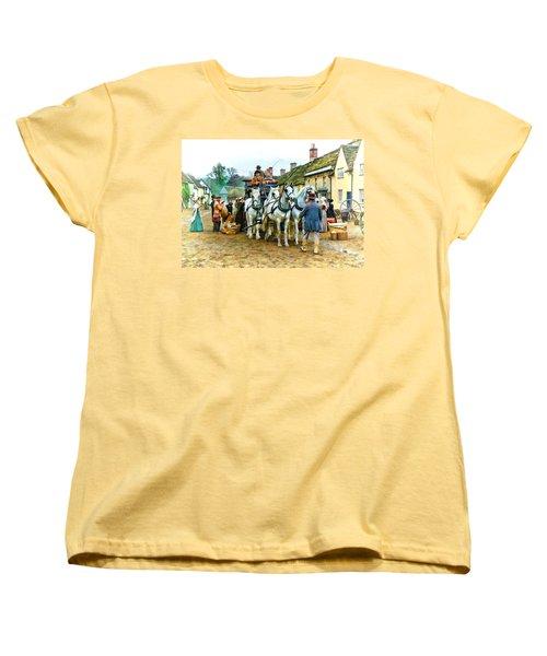 Women's T-Shirt (Standard Cut) featuring the photograph Departing Cranford by Paul Gulliver